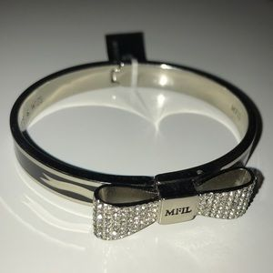 NWT My Flat In London Bow Bracelet Bangle